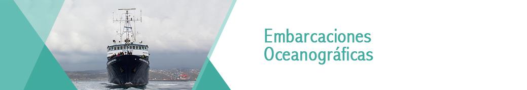 Banner Embarcaciones Oceanográficas